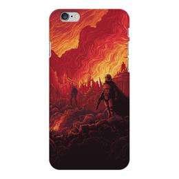 "Чехол для iPhone 6 Plus глянцевый ""Звездные войны"" - звездные войны, фантастика, кино, дарт вейдер, star wars"