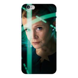 """Чехол для iPhone 6 Plus глянцевый """"Звездные войны - Лея"""" - звездные войны, фантастика, кино, дарт вейдер, star wars"""