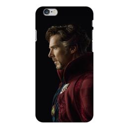 """Чехол для iPhone 6 Plus глянцевый """"Доктор Стрэндж"""" - marvel, мстители, марвел, доктор стрэндж, doctor strange"""