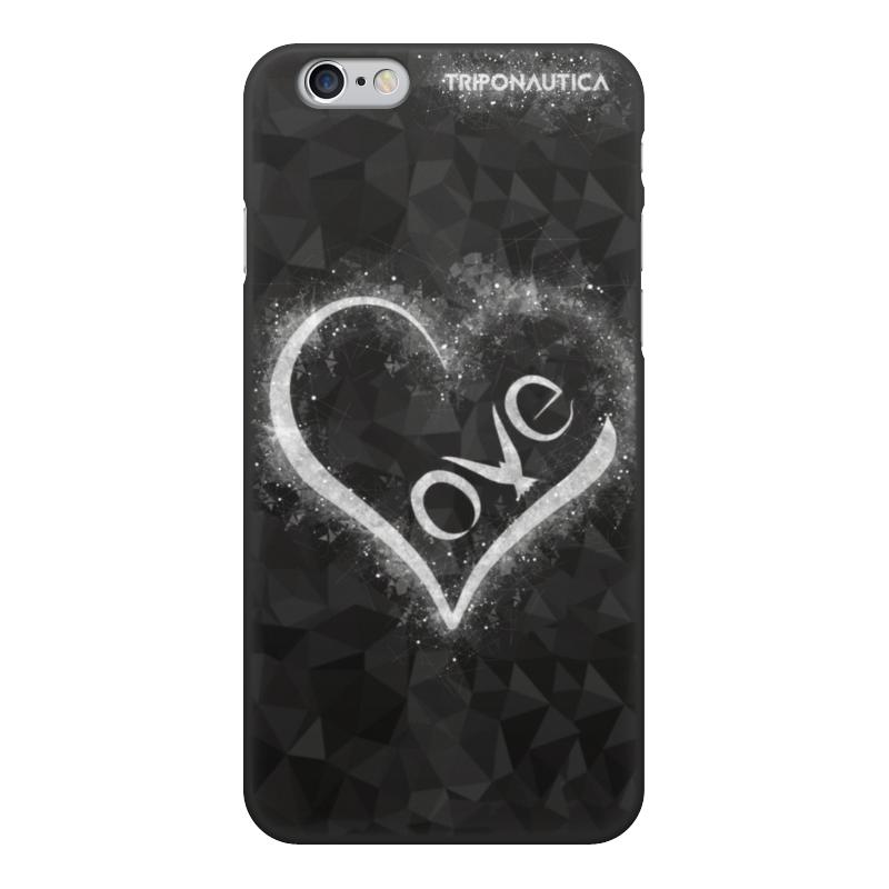 Фото - Чехол для iPhone 6, объёмная печать Printio Ilove black чехол для iphone 6 глянцевый printio карта мародеров