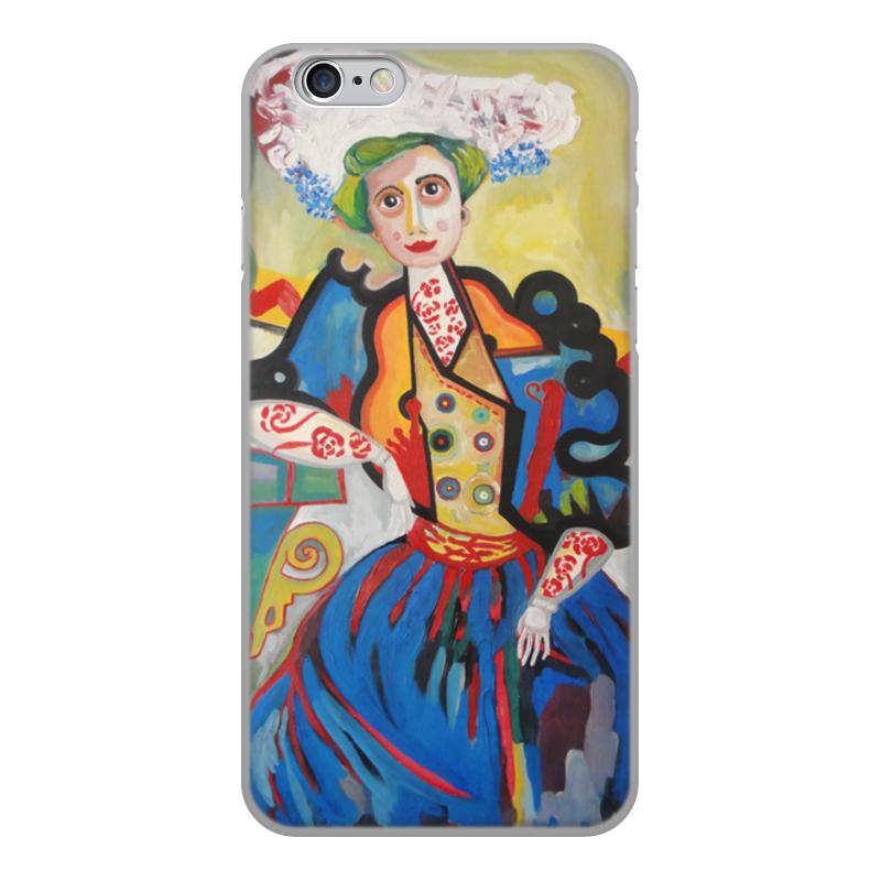 лучшая цена Чехол для iPhone 6, объёмная печать Printio Женщина (амадеу ди соза-кардозу)