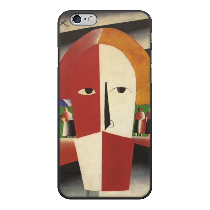 Чехол для iPhone 6, объёмная печать Printio Голова крестьянина (казимир малевич)