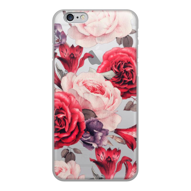 Чехол для iPhone 6, объёмная печать Printio Цветы