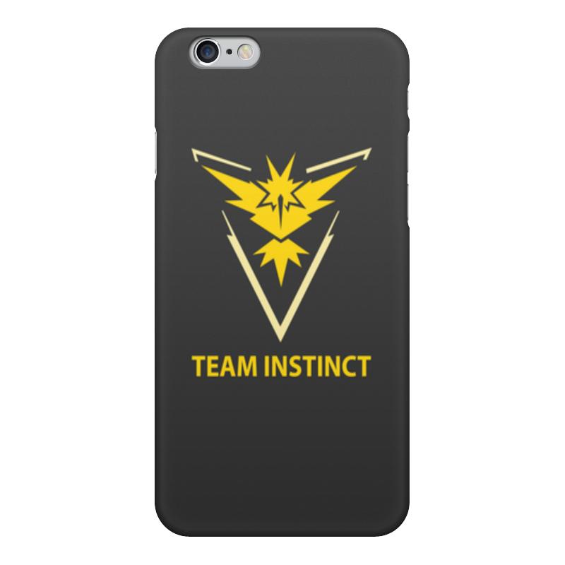 Чехол для iPhone 6, объёмная печать Printio Team instinct чехол для iphone 6 объёмная печать printio team mystic