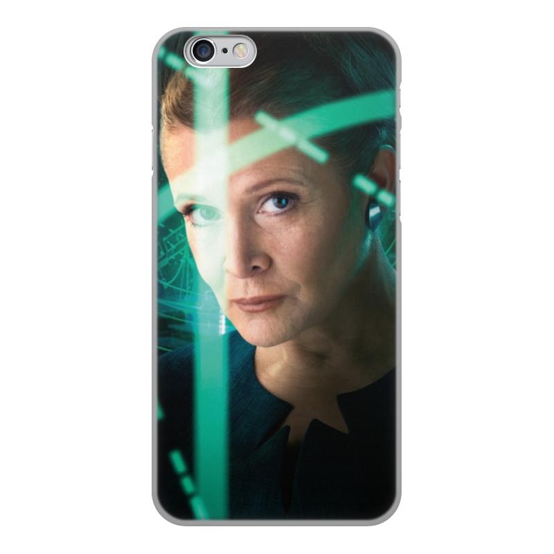 Чехол для iPhone 6, объёмная печать Printio Звездные войны - лея