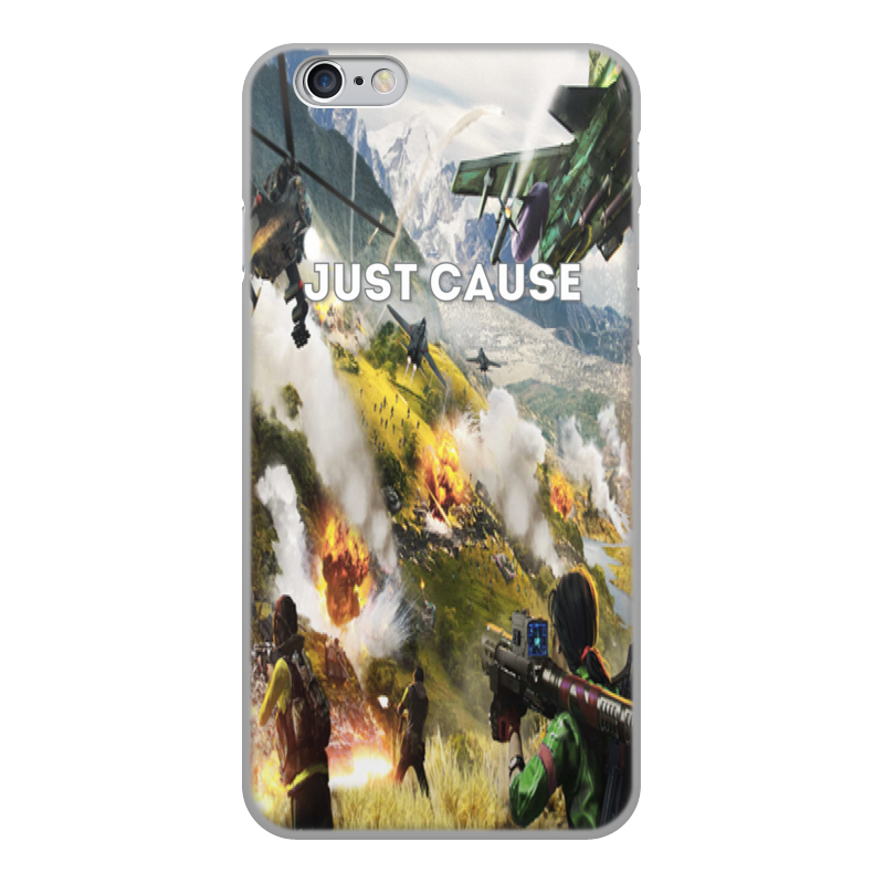 Printio Just cause чехол для iphone 6 объёмная печать printio ilove black light grey