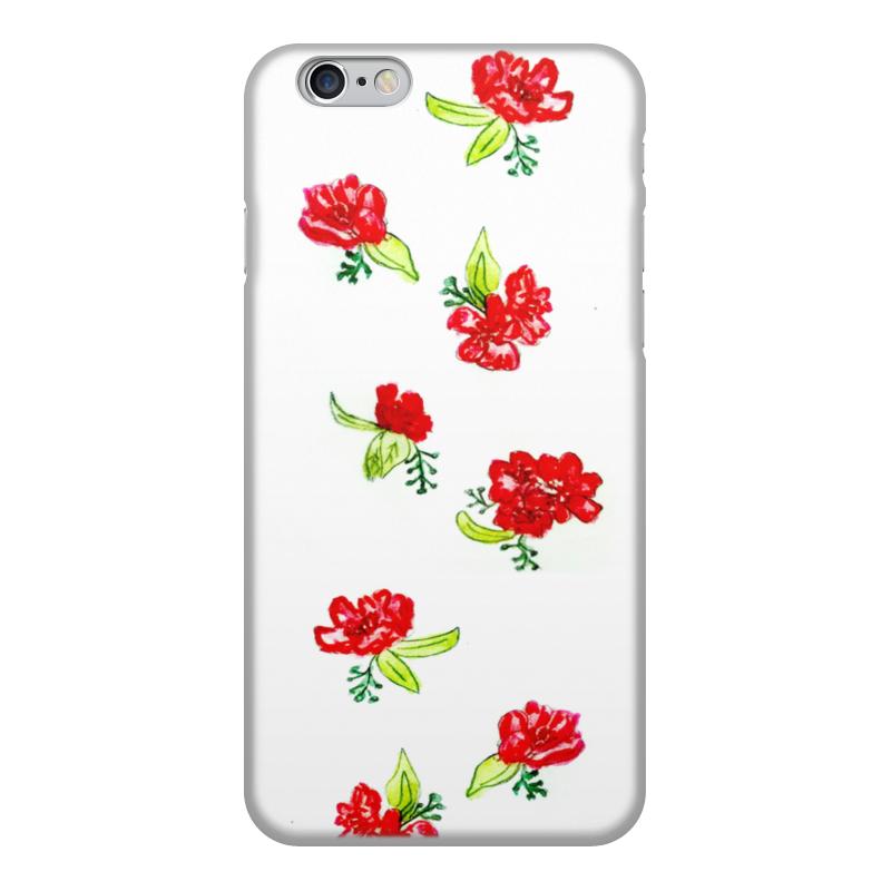 Чехол для iPhone 6, объёмная печать Printio Чехол красные цветы чехол для ноутбука 14 printio чехол чехол чехол луговые цветы