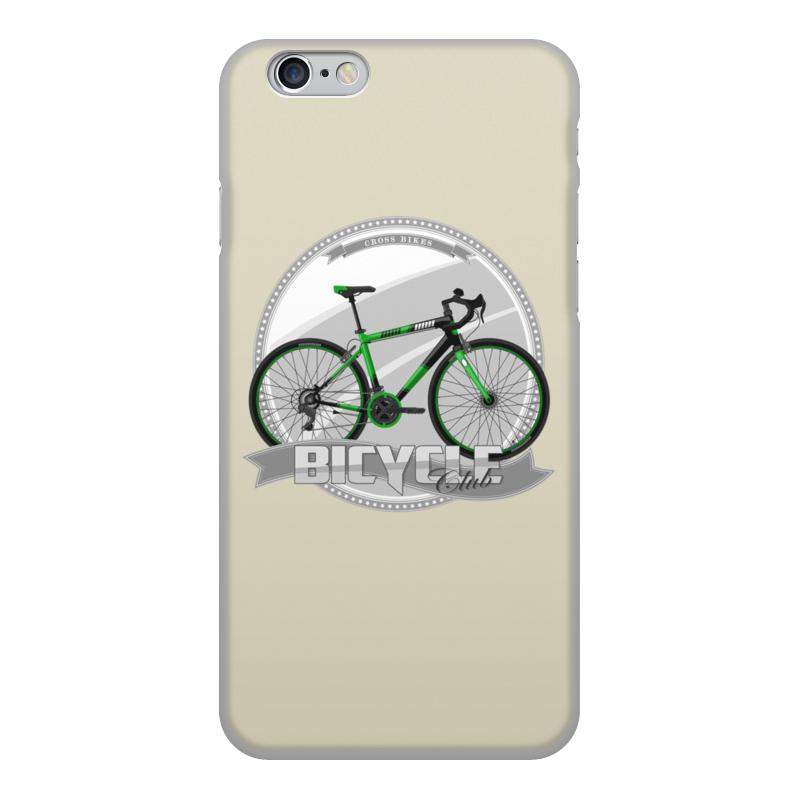 Чехол для iPhone 6, объёмная печать Printio Участник велосипедного соревнования. чехол для ноутбука 14 printio эмблема
