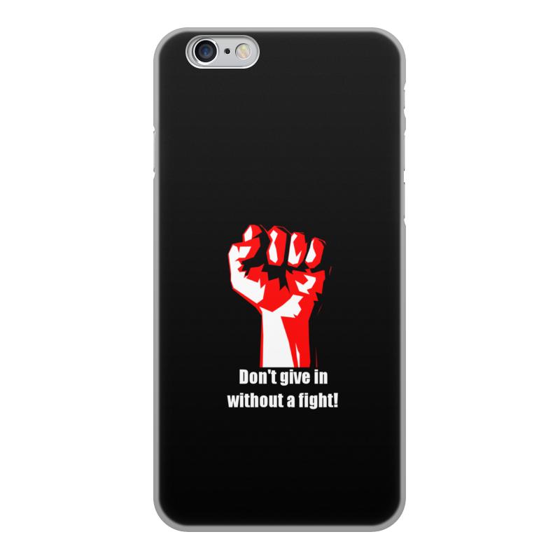 Чехол для iPhone 6, объёмная печать Printio Битва. драка. fight. бойцовский клуб чехол для iphone 4 глянцевый с полной запечаткой printio битва драка fight бойцовский клуб