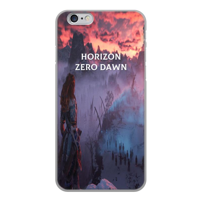 Чехол для iPhone 6, объёмная печать Printio Horizon zero dawn zhiyusun 68015e 020 touch screen sensor glass 164 127 6 5 inch industrial use 8line 164mm 127mm