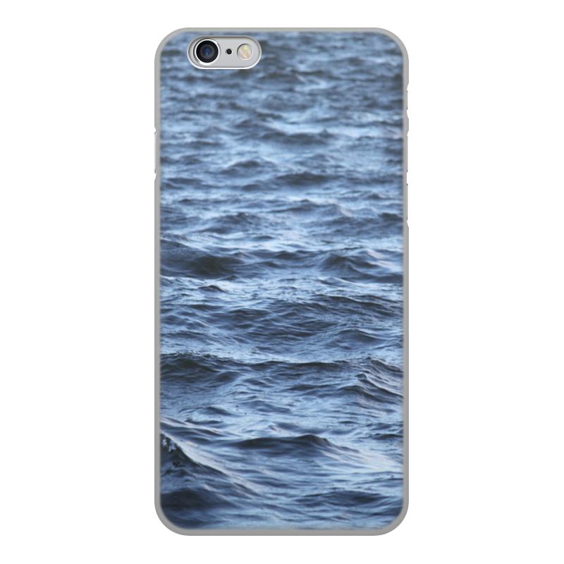 Чехол для iPhone 6, объёмная печать Printio Волнующее море original new innolux 5 6 inch at056tn53 v 1 lcd screen with touch