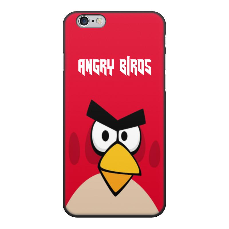 Чехол для iPhone 6, объёмная печать Printio Angry birds (terence) чехол для iphone 4 4s angry birds 1 401