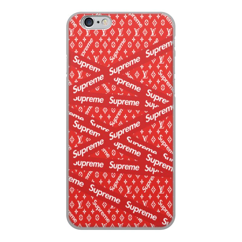 Printio Supreme чехол для iphone 6 объёмная печать printio ilove black light grey