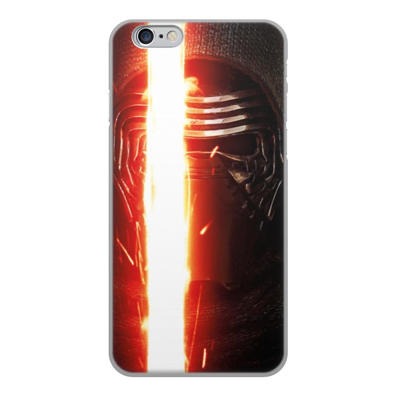 Чехол для iPhone 6, объёмная печать Printio Звездные войны - кайло рен printio чехол для iphone 6 объёмная печать