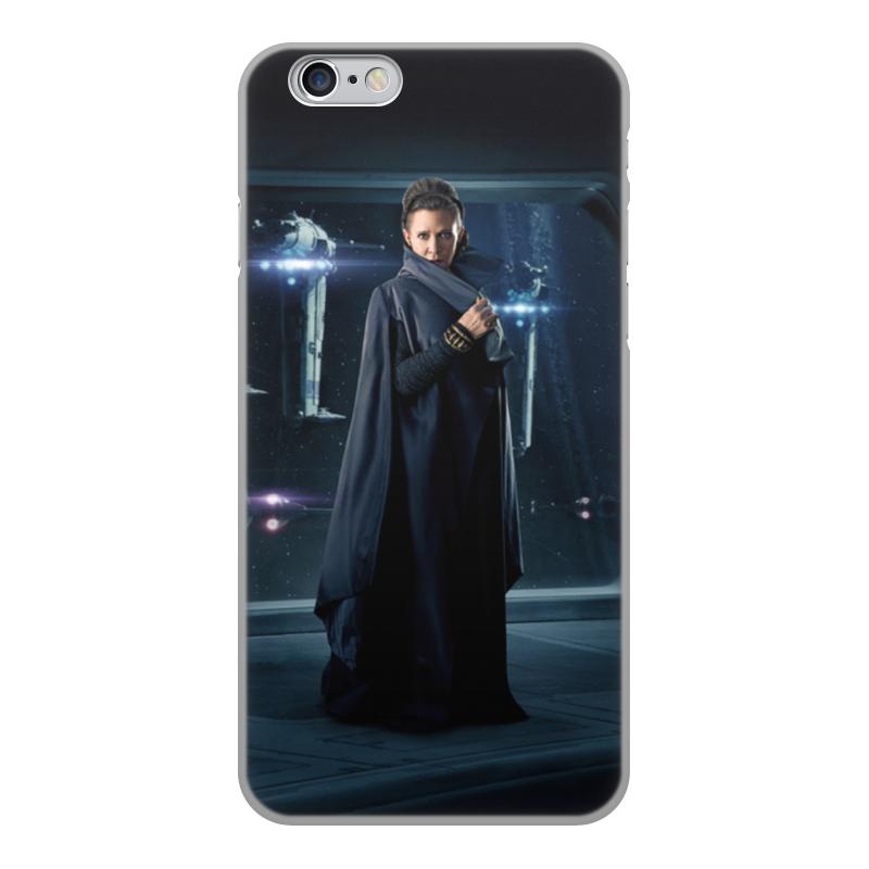 Чехол для iPhone 6, объёмная печать Printio Звездные войны - лея printio чехол для iphone 6 глянцевый