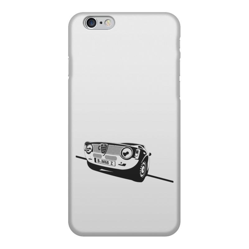 Чехол для iPhone 6, объёмная печать Printio Retro alfa romeo racing блокнот на пружине а4 printio retro alfa romeo racing