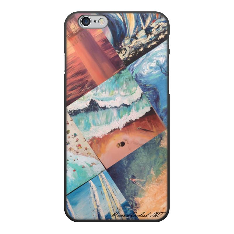 Чехол для iPhone 6, объёмная печать Printio Maria golub art (1) блузка golub б1155 3033 2548