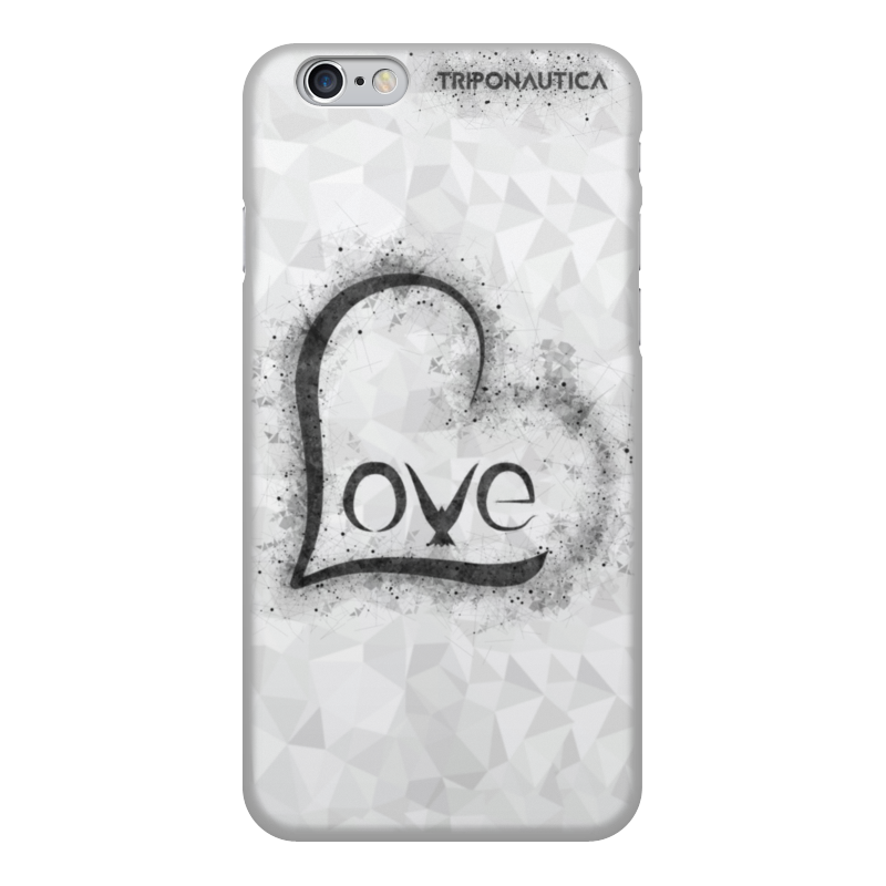 Printio Ilove light grey чехол для iphone 6 объёмная печать printio ilove black light grey