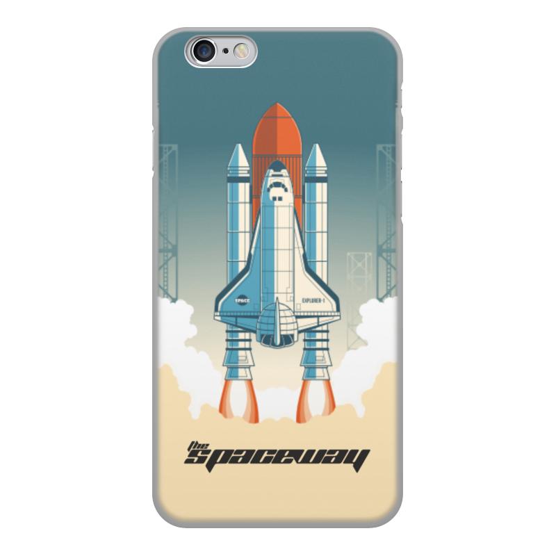 лучшая цена Чехол для iPhone 6, объёмная печать Printio Покорение космоса