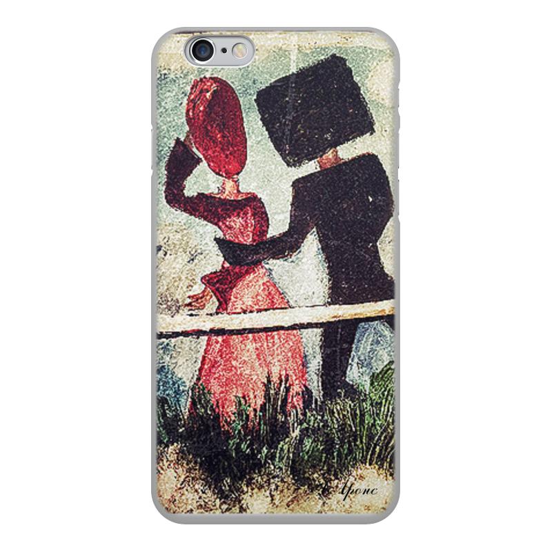 Чехол для iPhone 6, объёмная печать Printio Встреча чехол для iphone 6 глянцевый printio sweet heart