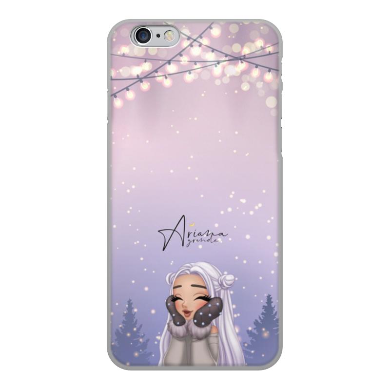 Чехол для iPhone 6, объёмная печать Printio Ariana grande