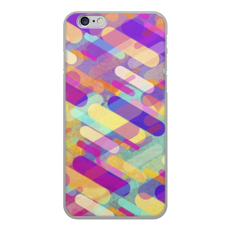 Чехол для iPhone 6, объёмная печать Printio Разноцветная абстракция mebelvia flowers via gladiolus 120х190