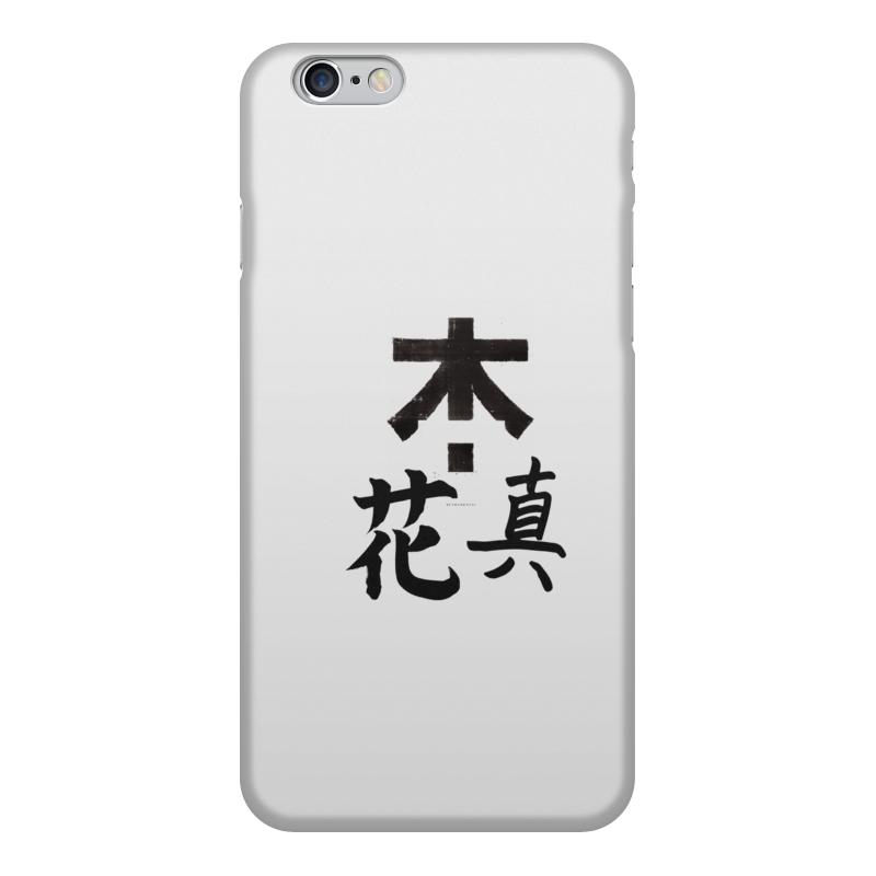 Чехол для iPhone 6, объёмная печать Printio Япония. минимализм чехол для iphone 4 глянцевый с полной запечаткой printio япония минимализм