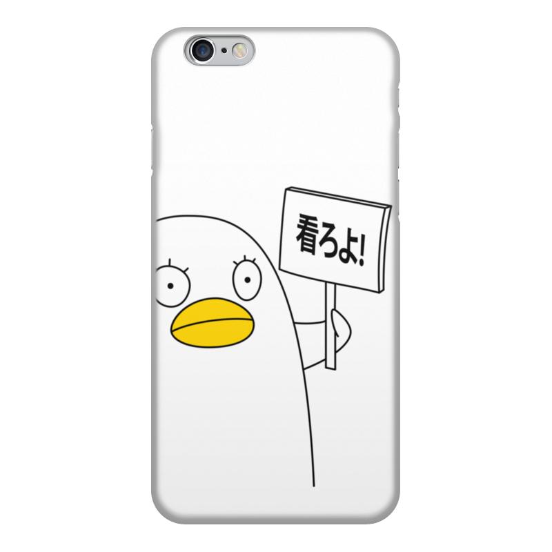 Чехол для iPhone 6, объёмная печать Printio Гинтама. элизабет gumai silky case for iphone 6 6s black
