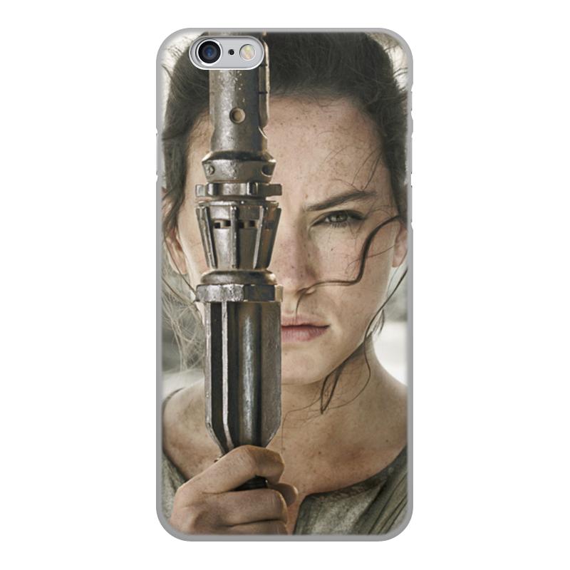 Чехол для iPhone 6, объёмная печать Printio Звездные войны - рей чехол для iphone 6 глянцевый printio playstation