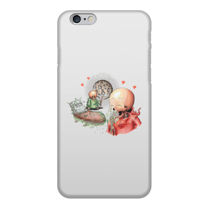 Чехол для iPhone 6, объёмная печать Printio Love is... чехол obey love is the drug iphone 4 4s black