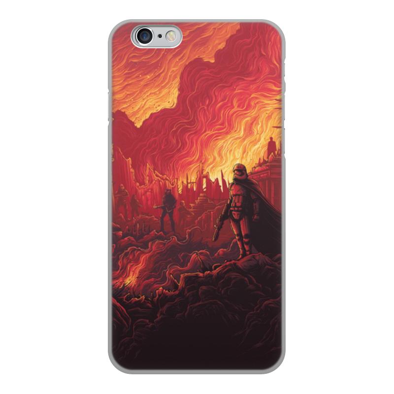 Чехол для iPhone 6, объёмная печать Printio Звездные войны чехол для iphone 6 глянцевый printio playstation