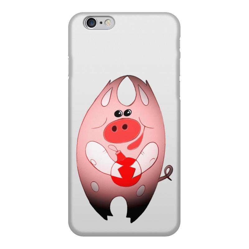 Чехол для iPhone 6, объёмная печать Printio Свинни хрю с елочной игрушкой блокнот printio свинни хрю с елочной игрушкой
