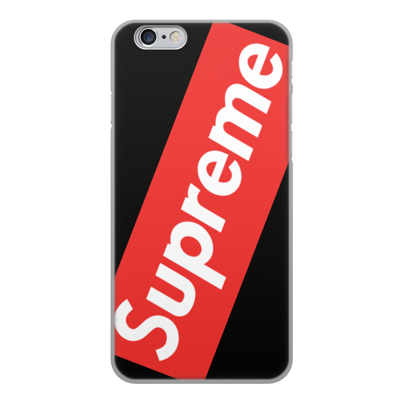 Чехол для iPhone 6, объёмная печать Printio Supreme case durable soft tpu and pu material little girl pattern phone protective case for iphone 6 4 7 inch