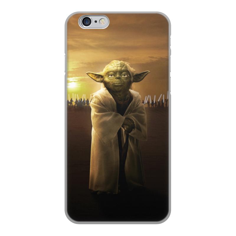 Чехол для iPhone 6, объёмная печать Printio Звездные войны - йода