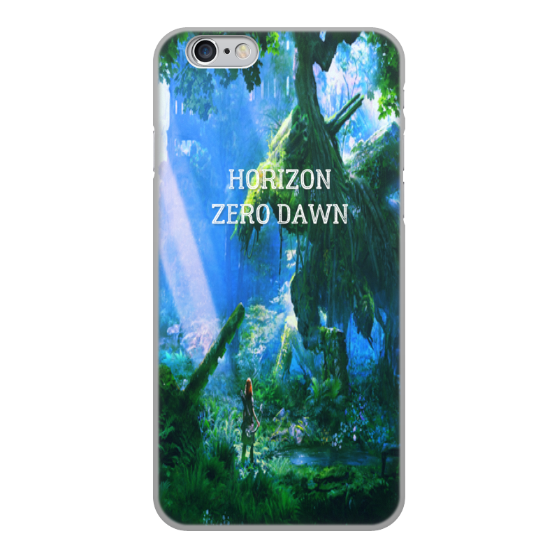 Чехол для iPhone 6, объёмная печать Printio Horizon zero dawn gumai silky case for iphone 6 6s black