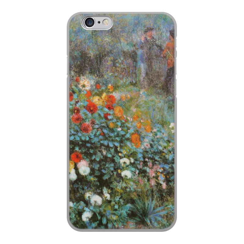 Чехол для iPhone 6, объёмная печать Printio Сад на улице корто (