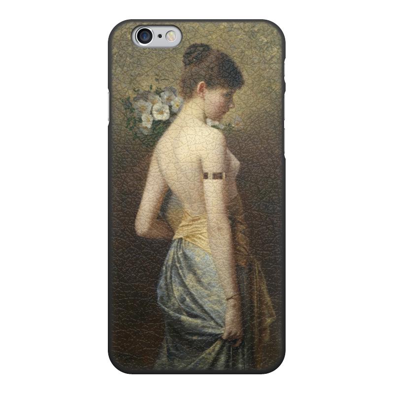 Чехол для iPhone 6, объёмная печать Printio Флора (макс нонненбрух) цена и фото