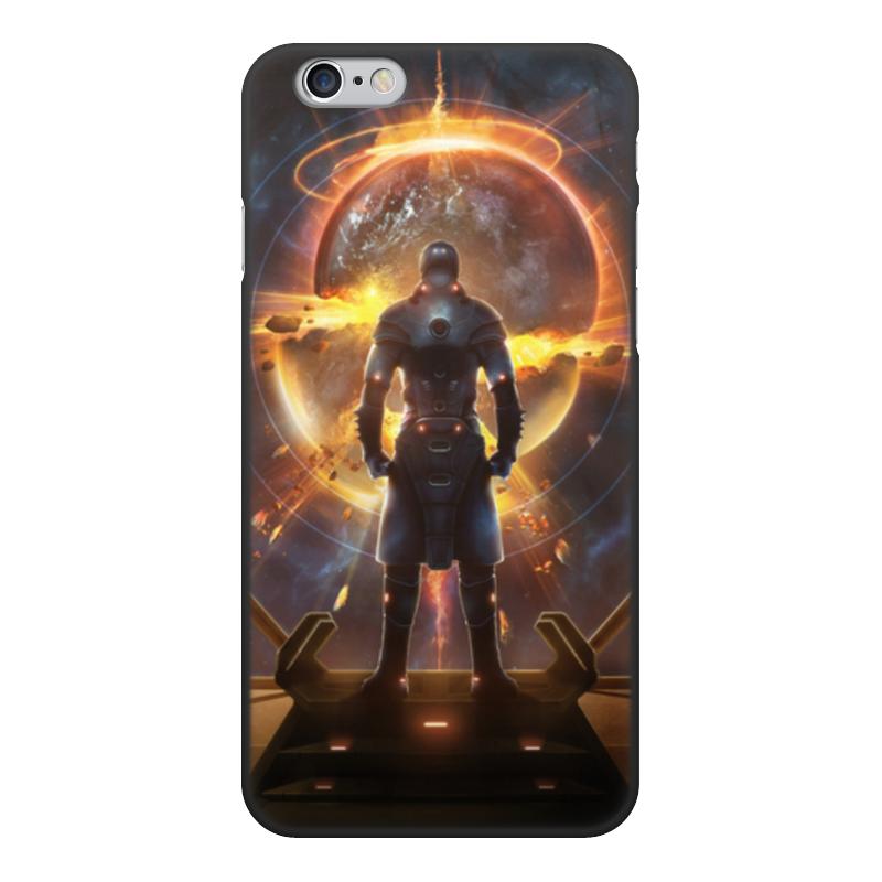лучшая цена Чехол для iPhone 6, объёмная печать Printio Starpoint gemini warlords