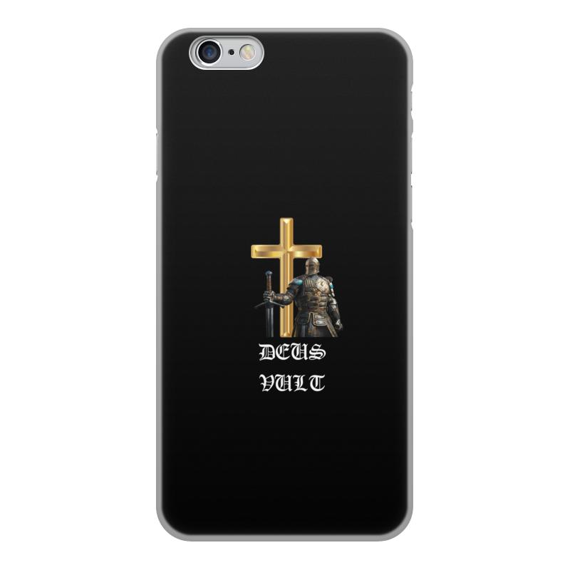 Чехол для iPhone 6, объёмная печать Printio Deus vult. крестоносцы