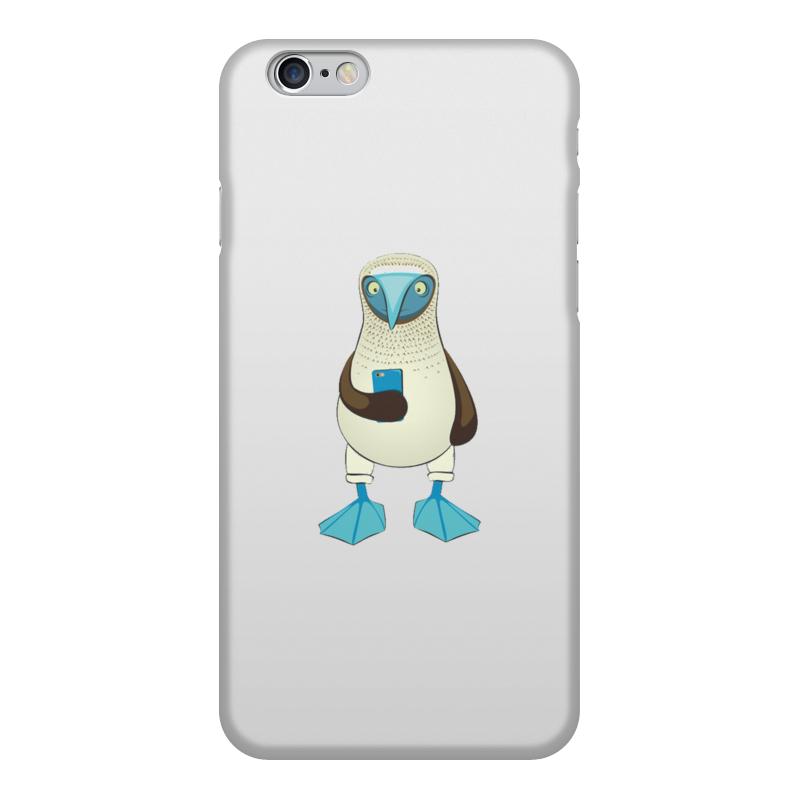 Чехол для iPhone 6, объёмная печать Printio Blue-footed booby