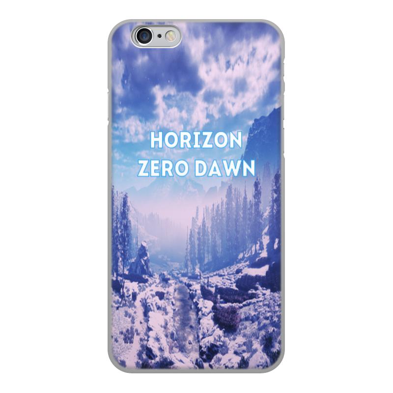 Чехол для iPhone 6, объёмная печать Printio Horizon zero dawn чехол для iphone 6 глянцевый printio бирюзовая печаль