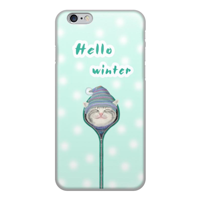 Чехол для iPhone 6, объёмная печать Printio Привет зима чехол накладка для iphone 6 ozaki o coat 0 3 jelly oc555tr пластик прозрачный