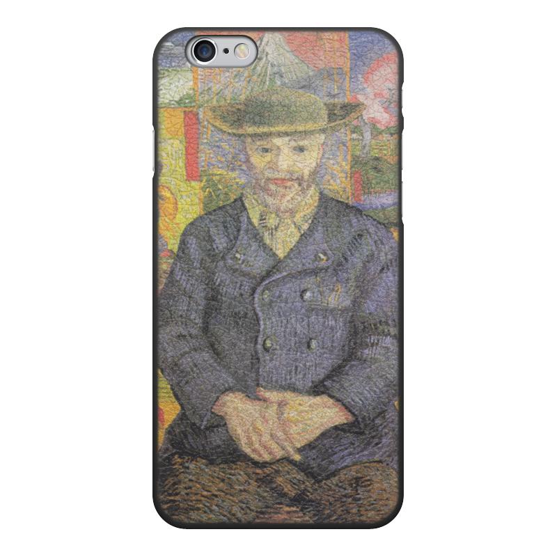 Чехол для iPhone 6, объёмная печать Printio Портрет папаши танги (винсент ван гог) цены