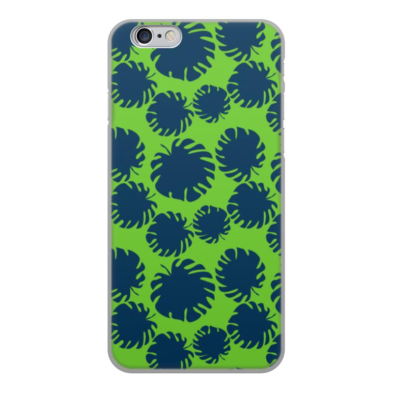 Чехол для iPhone 6, объёмная печать Printio Тропические листья