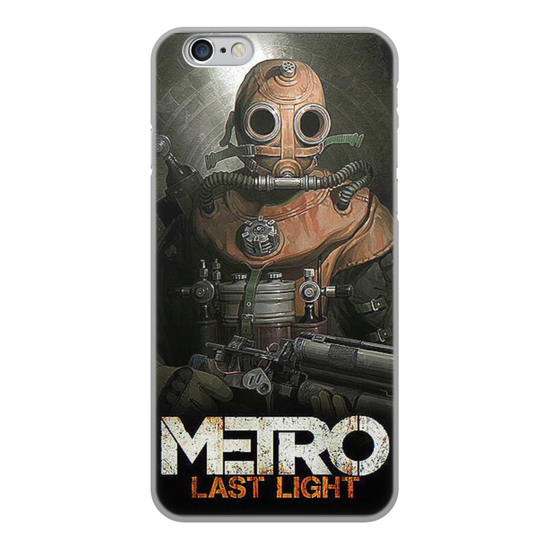 лучшая цена Чехол для iPhone 6, объёмная печать Printio Метро 2033. видеоигры
