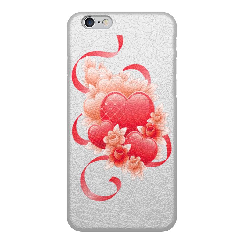 лучшая цена Чехол для iPhone 6, объёмная печать Printio Любимой на 14 февраля
