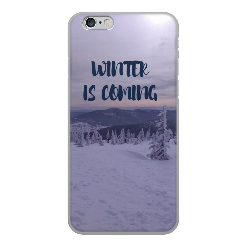 Чехол для iPhone 6, объёмная печать Printio Winter is coming рубашка поло stanley performs printio winter is coming