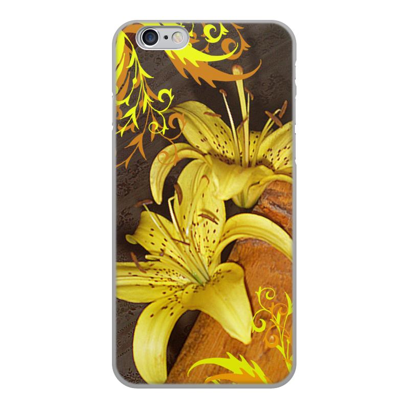 Чехол для iPhone 6, объёмная печать Printio Лилии. чехол для ноутбука 14 printio чехол лилии