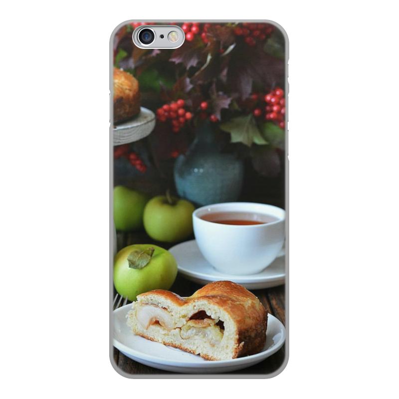 Чехол для iPhone 6, объёмная печать Printio Яблочный пирог zi яблочный пирог яблочный 6 iphone6s телефон оболочки защитной оболочки rhinestone sakura 4 7 дюйма