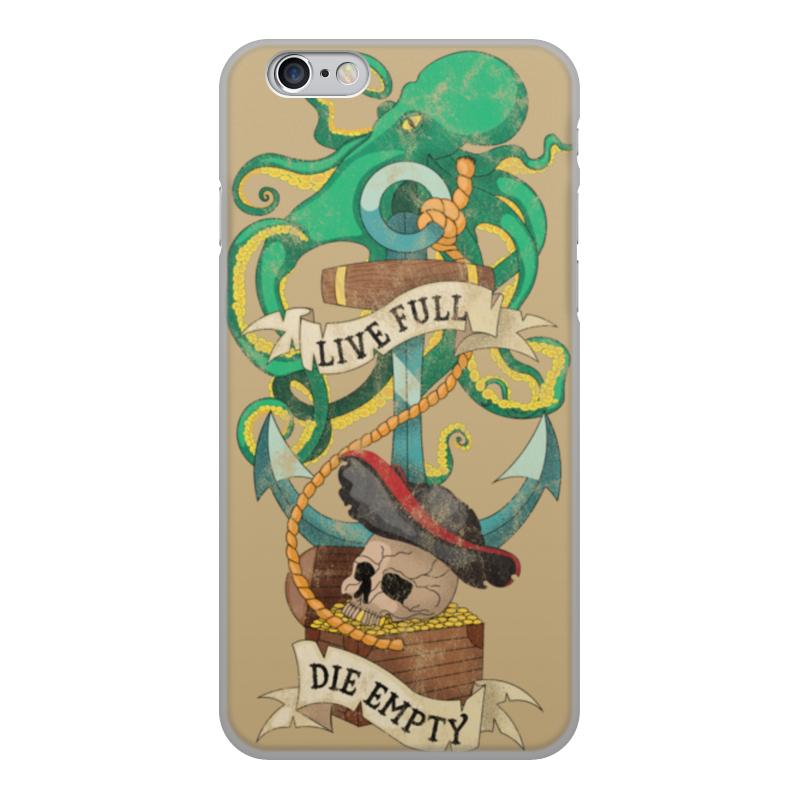 лучшая цена Чехол для iPhone 6, объёмная печать Printio Осьминог